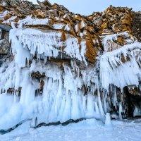 Ледяные скальники :: Владимир Гришин