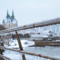 Однажды...в конце февраля...в Одессу заглянула зима... :: Виктория Бондаренко