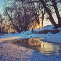 Зимний закат. :: Svetlana Sneg