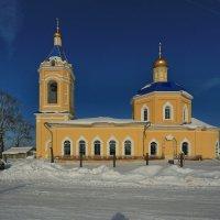 Казанский Храм в деревне Грайвороны :: ninell nikitina