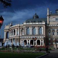 Сумеречная опера в Одессе :: Sergey-Nik-Melnik Fotosfera-Minsk