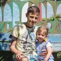 Братик и сестрича :: Серёга Одайник