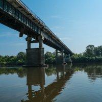 мост чарез Суру :: Владимир Бухаленков