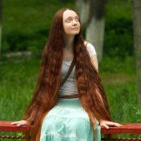 Девушка с Шоколадными волосами :: Mikhail Linderov