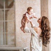 Нежное утро мамы и дочки :: Ольга Габеева
