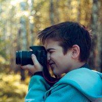 Юный фотограф :: Андрей Кузнецов