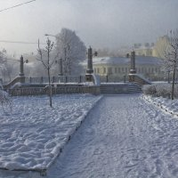 Зима в городе. :: Senior Веселков Петр