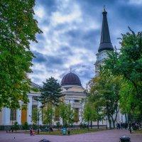 Осенний день на Соборке. :: Вахтанг Хантадзе