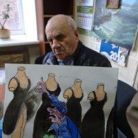 Иронический портрет сатирика Михаила Куюна :: Алекс Аро Аро
