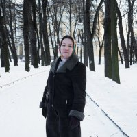 Морозно в зимнем саду :: Aнна Зарубина