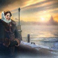 Петербуржская барышня. :: Виктор Седов