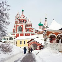 Саввино-Сторожеский монастырь. :: Юрий Шувалов