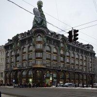 Здание компании Зингер в Санкт-Петербурге :: Борис Русаков