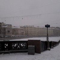 Зимняя Фонтанка :: Svetlana Lyaxovich