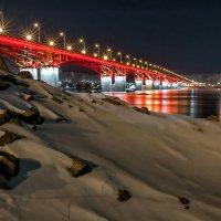 Вечерний мост Красноярска :: Сергей Герасимов