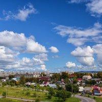 Плывут облака над городом. :: Виктор Иванович Чернюк