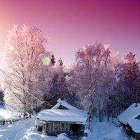 Утро в деревне бывает разное :: Роман Дудкин