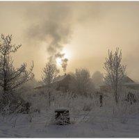 Март. Морозное утро. :: Марина Никулина