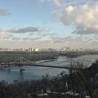 Чуден Днепр при любой погоде... :: Валентина Данилова