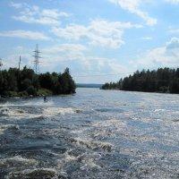 Река Вуокса вблизи посёлка Сапёрное Приозёрского района Ленинградской обл. :: Ирина ***
