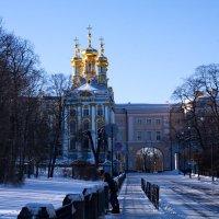 Екатериниский дворец-купола :: Валентина Папилова