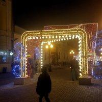 Морозный вечер на Арбате... :: Елена