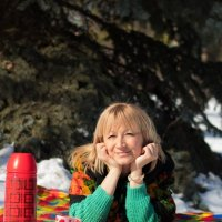 Прогулочная зимняя фотосессия :: Яна Глазова