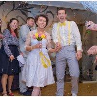 Свадьба альпиниста. :: arkadii
