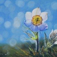 """""""Весенне солнышко."""" Картина написана пастельными мелками. :: Лара Гамильтон"""