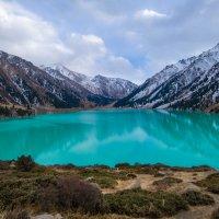 ледниковое озеро :: Сергей П.