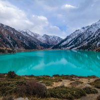 ледниковое озеро :: Серик Б.