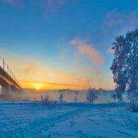 Закат над Ангарой :: Анатолий Иргл