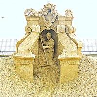 """Выставка песчаных скульптур: """" Века минувшие..."""" :: Владимир Драгунский"""