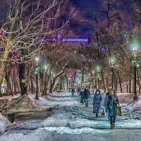 Москва. Гоголевский бульвар. Март. :: Игорь Герман