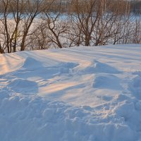 Вечерний снег :: Леонид Иванчук