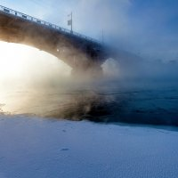 Туман над рекой :: Анатолий Иргл