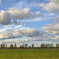 Облака над деревней :: lady v.ekaterina