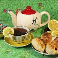Чай не пьёшь - какая сила?:) :: Андрей Заломленков