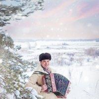 Отчего, отчего гармонь поет.... :: Елена Князева