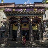 «Даца́н Гунзэчойнэ́й» - буддийский храм в Санкт-Петербурге. :: Игорь Олегович Кравченко