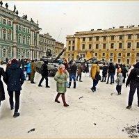 Танки на Дворцовой площади. :: Виктор Егорович