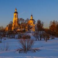 Храм на закате :: Сергей Цветков