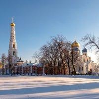 Зима в монастыре :: Андрей Бондаренко