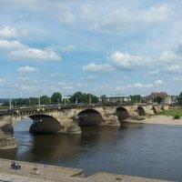 Мост Августа. Дрезден. Германия. :: Олег Кузовлев