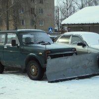 К борьбе со снегом готов! :: Сергей Уткин