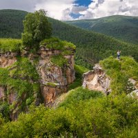 Бегущая по горам ... :: Владимир КРИВЕНКО