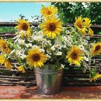 Солнечное лето в саду :: Лидия (naum.lidiya)