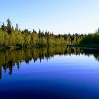 Зеркальные реки Карелии :: petrovpetrg