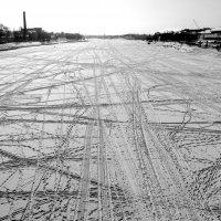 Зимняя навигация...... :: Олег Баслаков