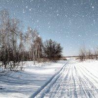 Дорогой зимнею, дорогой дальнею.. :: Андрей Заломленков